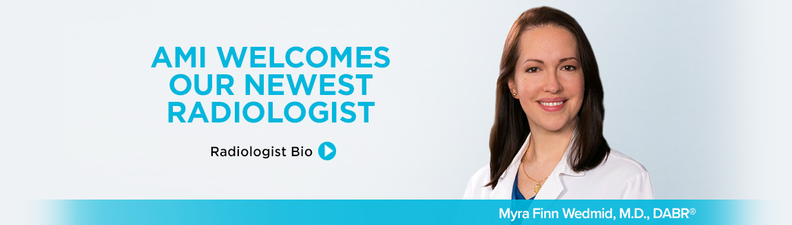 New Radiologist Dr. Wedmid